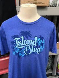 Island Blue shirt